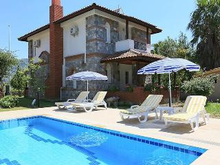 decorated with flowers,shared big pool,english tv,free internet - Mugla Province vacation rentals