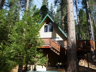 Relaxing 2BR Cabin W/Loft in 'Bear Valley' - Walk to Blue Lake Springs Lake & Country Club WIFI - Dorrington vacation rentals