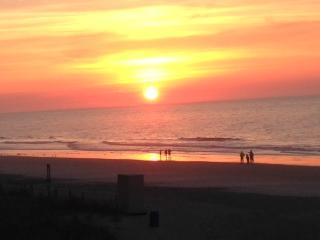 Sunrise, wake up to this view every morning. - Direct Oceanfront  Beauty Sand Dunes - Myrtle Beach - rentals