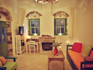 Myrtia House, colorful stonebuilt house in village - Rhodes vacation rentals