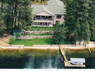 Private Beach in great bay,Comfortable family Home - Hayden Lake vacation rentals