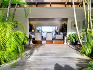 Spacious 3 Bedroom Villa with Private Terrace & Ocean View in Mustique - Mustique vacation rentals