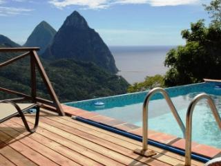 Villa Colombette: Pitons, Ocean, Rain Forest views - Soufriere vacation rentals