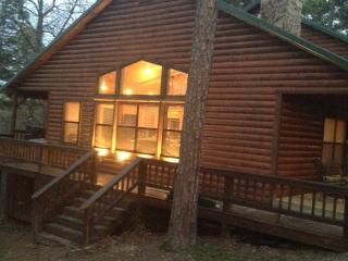 Peaceful Hilltop Luxury Cabin, Family Friendly - Oklahoma vacation rentals