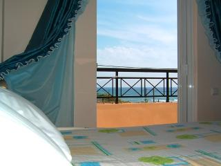 Cozy 2-bedroom sea-view apartment by the beach - Argyrades vacation rentals