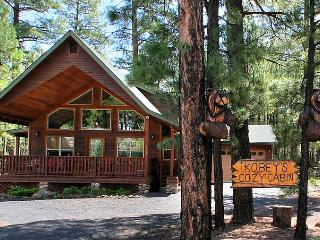 COMFY COZY MOUNTAIN CABIN - RELAX IN THE PINES! - Pinetop vacation rentals
