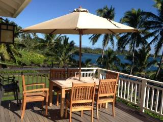 Beautiful Oceanfront  Beach Cottage at Hana Bay - Hana vacation rentals