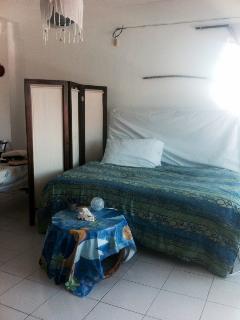 comfy &pretty loft/studio,centre of Puerto Morelos ,Mexico. ocean view 3mnts walk to beach .all shops 1 minute walk - Puerto Morelos vacation rentals