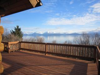Ocean front, seclusion, Alaskan character - Seldovia vacation rentals