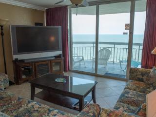 Direct Ocean Front Condo 1BR/2BA Vacation Rental Property - Garden City Beach vacation rentals