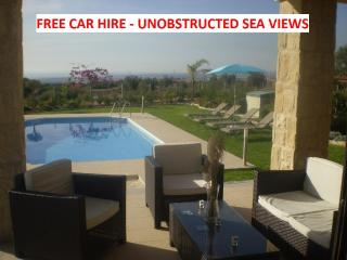 HUGE WOW Factor. 3 bed all en-suite. Pool FREE CAR - Paphos vacation rentals