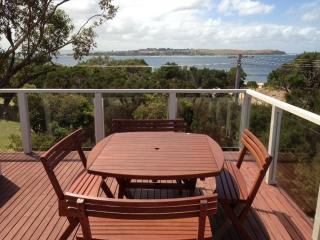 BEACHFRONT HOUSE WITH SPECTACULAR WATER VIEWS FROM TWO DECKS - Cowes vacation rentals