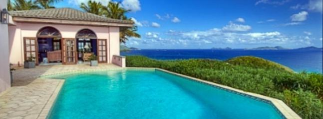 Impressive 6 Bedroom House with View on Tortola - Image 1 - Tortola - rentals