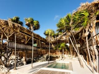 Fabulous 2 Bedroom Beach House with Private Terrace in Tulum - Tulum vacation rentals