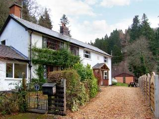 FORESTRY COTTAGE, riverside location with woodland views, woodburner, walks and cycle routes, near Bala, Ref 905408 - Llanfor vacation rentals