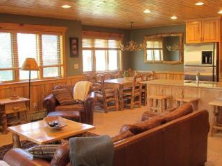 Luxury Log Cabin Condo! Walk to Canyons Cabriolet - Utah Ski Country vacation rentals
