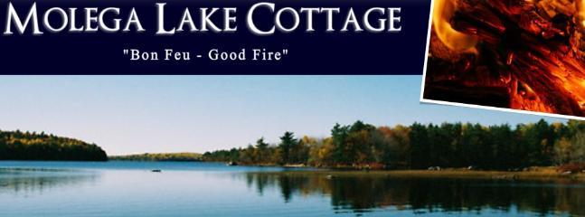 Lake Cottage on Molega Lake, Nova Scotia - Image 1 - Greenfield - rentals