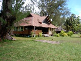 Private house at Bora Bora's atol - 2 beaches - Bora Bora vacation rentals