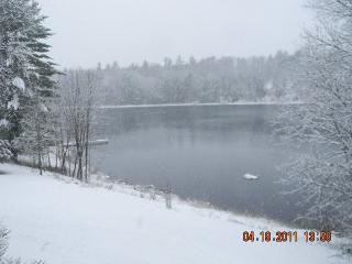Cabin on private lake for rent in central Wis. - Wisconsin vacation rentals