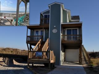 Larrys Lazy Susan -Elevator 5BR Beachfront - North Topsail Beach vacation rentals