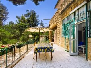 Authentic Ground Floor 2 Bdr/2 Bthrm with Garden - Jerusalem vacation rentals