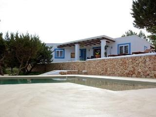 3 bedroom House with Private Outdoor Pool in Cala Tarida - Cala Tarida vacation rentals