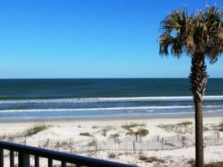 True Ocean Front Condo at Coquina Crescent Beach! - Florida North Atlantic Coast vacation rentals