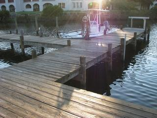 Boat dock/pier - Palm Villa- By pool and boat dock - Panama City Beach - rentals