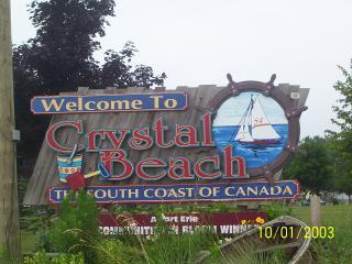 Crystal Beach - South Coast of Canada - Crystal Beach Cottage on Lake Erie - Crystal Beach - rentals