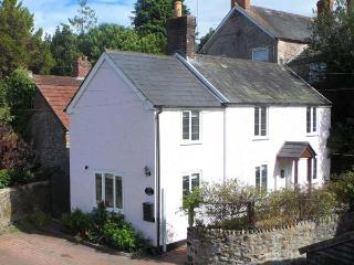 ROSE COTTAGE, link-detached period cottage, woodburner, off road parking - Tatworth vacation rentals