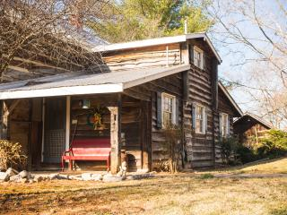 Sleep in a bit of history, 1860 log cabin - Rogersville vacation rentals