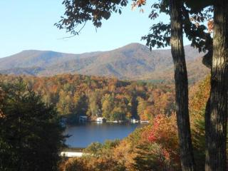 Enjoy the Amazing Lake and Fall Mountain Views! ! !   T - Lake Lure vacation rentals
