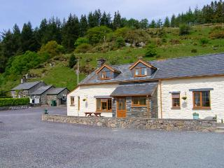 HENRHIW UCHAF, enclosed lawned garden, patio with furniture, open fire, Ref 913376 - Penmachno vacation rentals