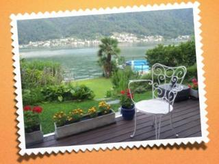 villa of your dreams on shore of lake of Lugano - Vico Morcote vacation rentals