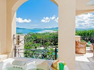 Stunning condo- near beach and town, oceanview, kitchen, tv, cable, jacuzzi - Tamarindo vacation rentals
