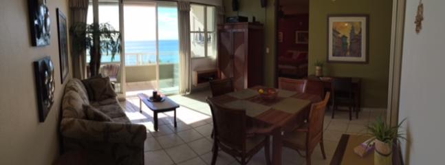 Living/Dining Room - OCEAN FRONT CONDO  -  RINCON  PR CORCEGA SECTOR - Rincon - rentals
