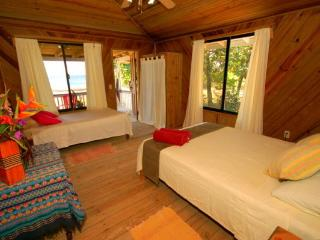 Blenny Cabin B - OCEANFRONT - WEST END - VIEW - Bay Islands Honduras vacation rentals