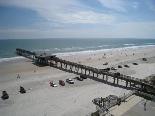 John's Ocean Getaway - Ocean Front Full Size Condo - Daytona Beach vacation rentals