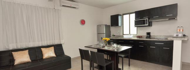 Totally Equipped apartments with granite counter top (Deluxe) - Condo 46  - Vacation Rental Apartments - Playa del Carmen - rentals