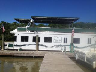Spacious Houseboat with pontoon in Atchafalaya Basin perfect for families/others - Morgan City vacation rentals