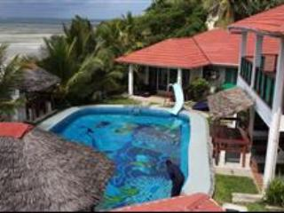Looking down on xanadu Beach Villa - South Bungalow one bedroom self catering apartment - Mombasa - rentals