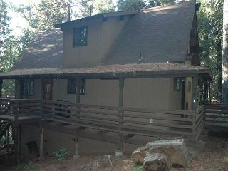 Great small mountain cabin in the woods.1 bdrm, loft, 2 baths,  sleeps 7. - Dorrington vacation rentals