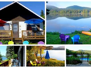 Lakefront cottage Val Morin - Chalet Lausanne - Rawdon vacation rentals