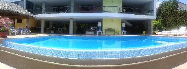 From the pool - Villa Casa la Piedra - Acapulco - rentals