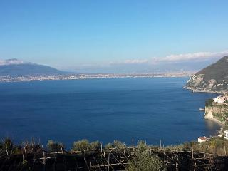 Panoramic 2 room suite overlooking the Gulf of Naples and Mt. Vesuvius - Vico Equense vacation rentals