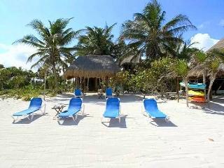 Casa Nah Alux  3 Unique Beach Houses in 1, Soliman Bay, Riviera Maya, Mexico - Tankah vacation rentals