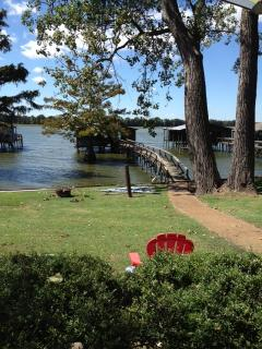 Beautiful Lakefront property with private dock for fishing and swimming - Memphis vacation rentals
