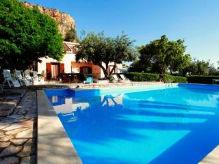 villa with pool not far from the beach - Scopello vacation rentals