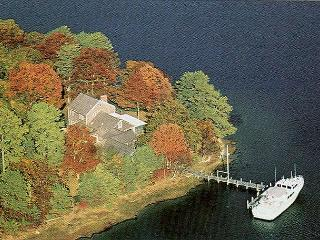 JAMPM - Waterfront, Waterview, Tashmoo Cove, dock - Vineyard Haven vacation rentals