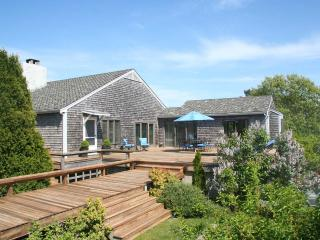 REYNW - Waterfront, Waterview, A/C, Great Pond,  Private Association Beach accessible by boat - Edgartown vacation rentals